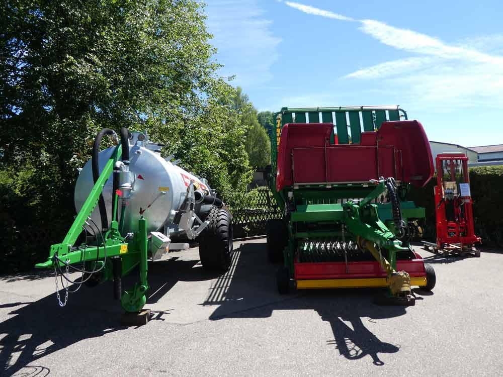 Agrar Ladewagen Druckfass