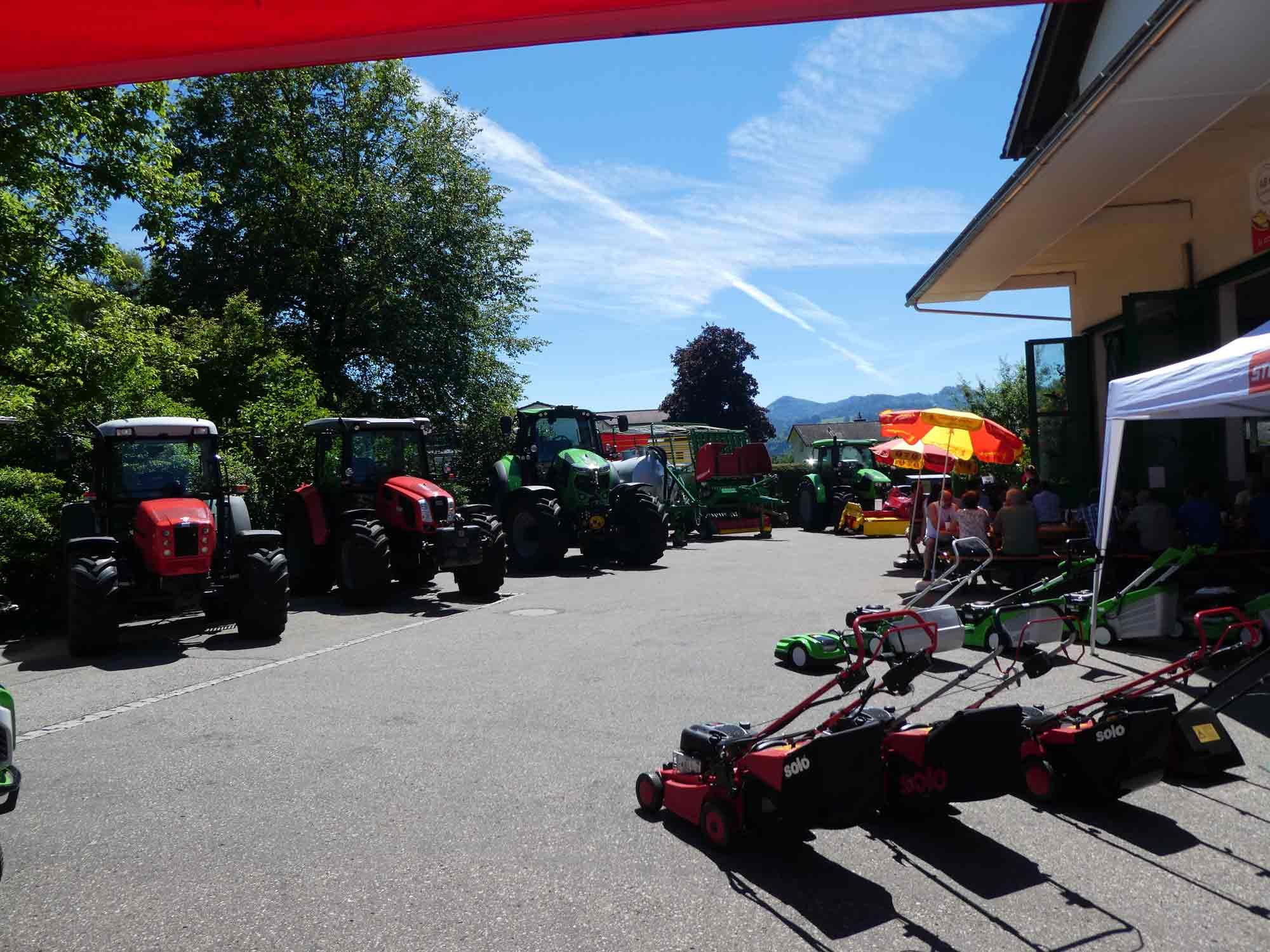 Traktoren Same-Deutz-Fahr