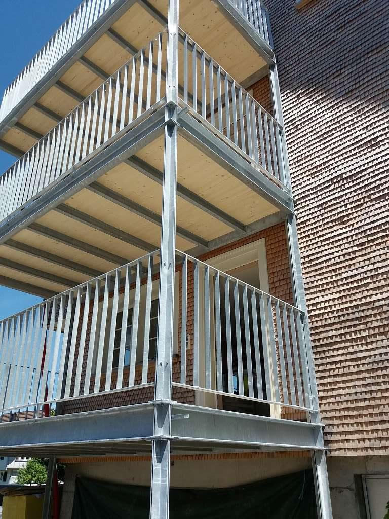 Balkon Heimatschutz