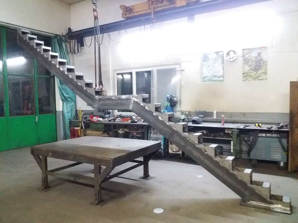 Treppe Stahlbau