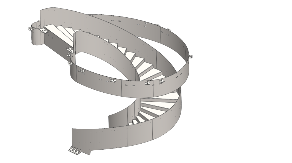 3d-konstruktion-archidektonische-wendeltreppe